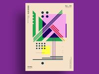 45 - Minimalist poster design
