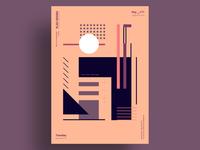 CRYPTOS - Minimalist poster design