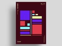 BAUGRID - Minimalist poster design