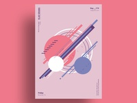 BLEND - Minimalist poster design
