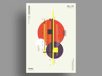 FALL(ish) - Minimalist poster design