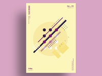 CRM - Minimalist poster design