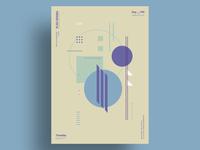BLBR - Minimalist poster design