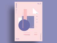 START - Minimalist poster design