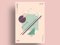 RVRS - Minimalist poster design