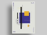 BHS - Minimalist poster design