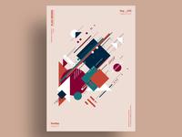 CSTV - Minimalist poster design
