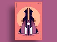 TWR - Minimalist poster design