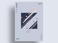 TEE - Minimalist poster design