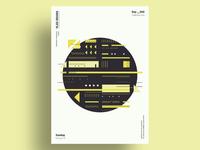 CBB - Minimalist poster design