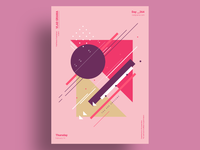 BOUQT - Minimalist poster design