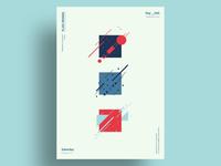 TSQ - Minimalist poster design