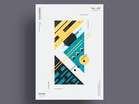 CLMN - Minimalist poster design