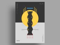 """BEADS"" - Minimalist poster design"