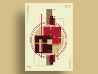 EFFLORESCENCE - Minimalist poster design