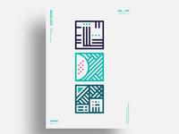 MTEM - Minimalist poster design