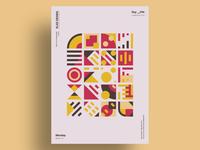 45comp - Minimalist poster design