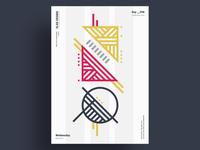 EXYO - Minimalist poster design