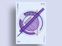 NEMETA - Minimalist poster design