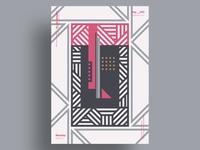 SANCTIS - Minimalist poster design