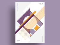 PROS - Minimalist poster design
