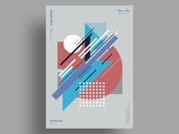 CORE RTR - Minimalist poster design