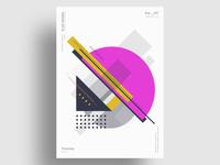 MEXIS - Minimalist poster design