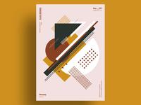 CLAM - Minimalist poster design