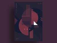 DARKNET - Minimalist poster design