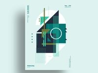 CORE NUKL - Minimalist poster design