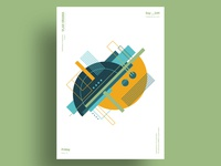 PLASTER - Minimalist poster design