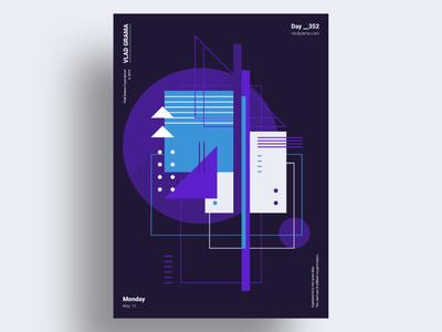 DLGHT - Minimalist poster design