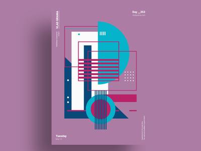 ORGANIK - Minimalist poster design