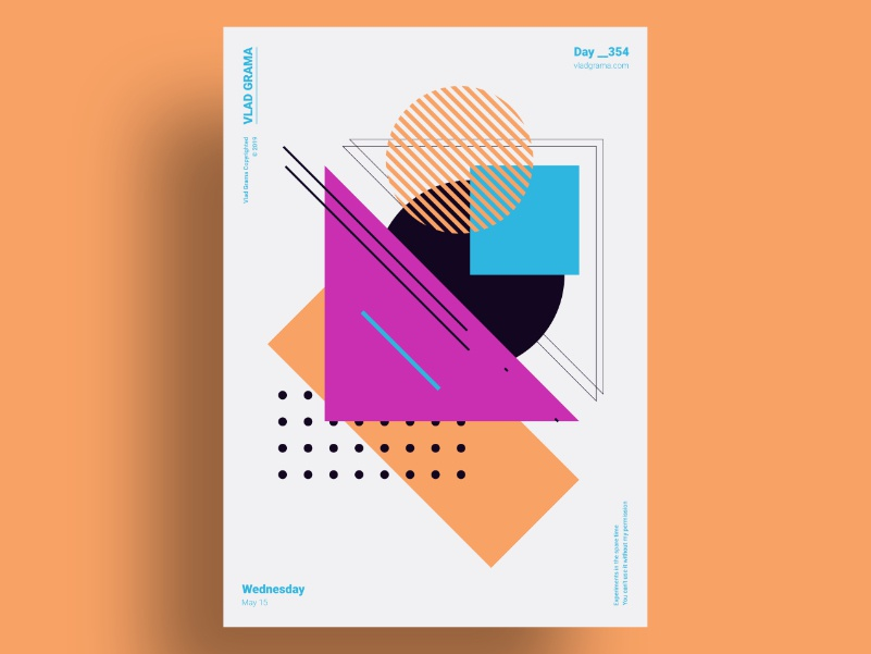 ORLAT - Minimalist poster design design art geometric illustration abstract poster challenge geometric design abstract design minimalist poster geometric art abstract art minimalist design poster collection poster art poster a day minimalism geometric design illustration composition minimalist poster