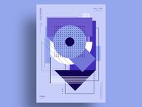 VERTIGO - Minimalist poster design