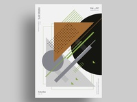 FLN - Minimalist poster design