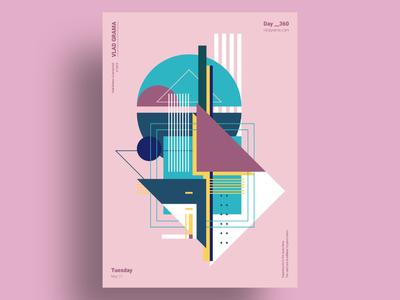 PYRON - Minimalist poster design