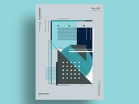 RVE - Minimalist poster design