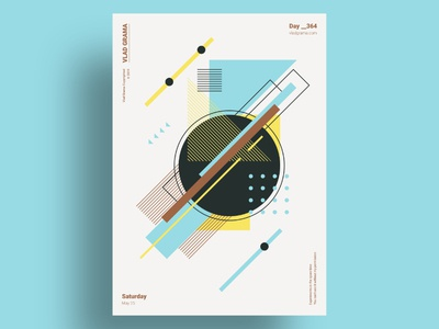 HORIZON 1 - Minimalist poster design
