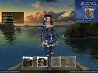 Guild Wars 1.4: Character Select Screen