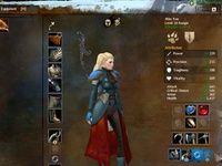 Guild Wars 2: Equipment Window UI