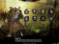Guild Wars 2: UI for Character Create