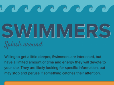Skimmers, Swimmers & Divers Infographic water ocean waves infographic