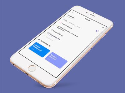 TODO App design webdesign ui ux