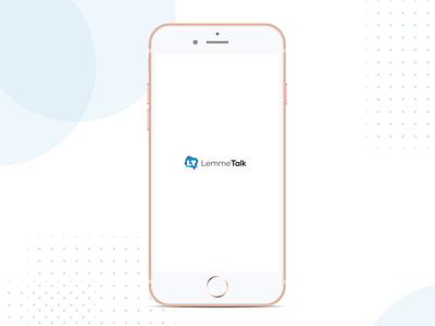 LemmeTalk - Sign in user interface user experience wearemaze android app ios dating app dating © maya el murr app ux design branding logo ui