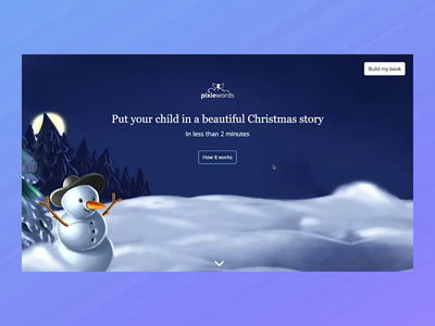PixieWords - Personalized Books for children user interface user experience wearemaze © maya el murr ux ui website flow personalized book children book children personalized ecommerce design ecommerce website