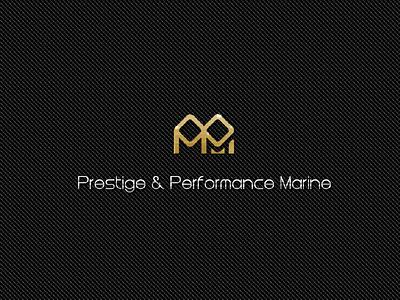 PPM Logo sliver gold fiber carbon titanium yacht logo branding