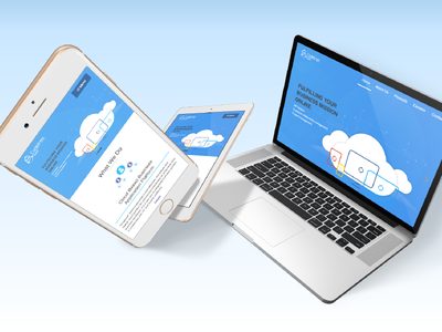 Code Free Soft Company Website system cloud responsive it website company