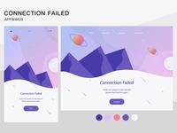 app&web connection failed