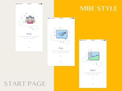 Mbe startpage